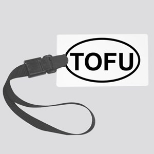 tofu Large Luggage Tag