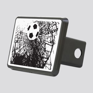Shattered Glass Ball Rectangular Hitch Cover