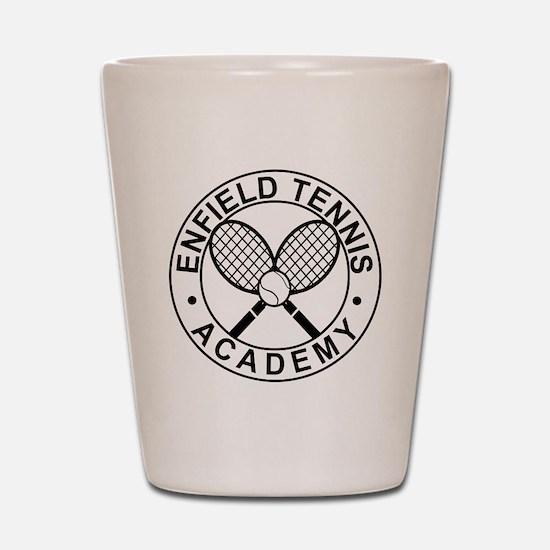 Enfield Tennis Academy - Front Shot Glass