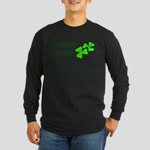 Fookin' Eejit! Long Sleeve Dark T-Shirt
