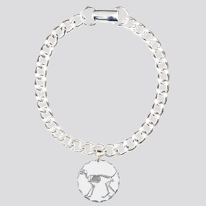 Skelo Cat Charm Bracelet, One Charm