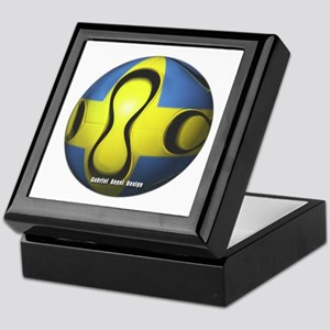 Sweden Soccer Keepsake Box