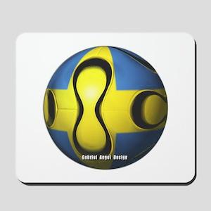 Sweden Soccer Mousepad