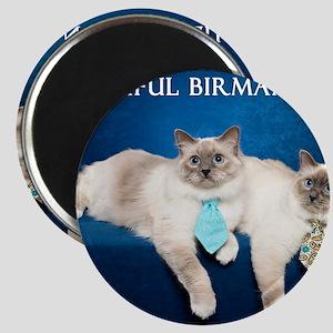 Birman Cat Calendar Magnet