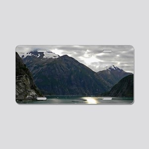 Tracey Arm Fjord Aluminum License Plate
