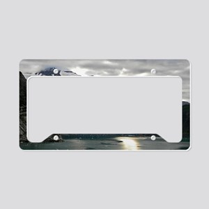 Tracey Arm Fjord License Plate Holder