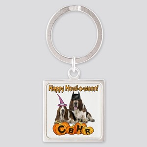 Howl-o-ween 2012 Square Keychain