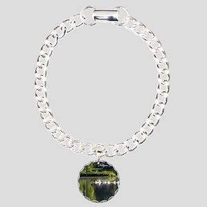 Loons Charm Bracelet, One Charm