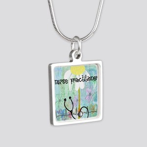 NP 1 Silver Square Necklace