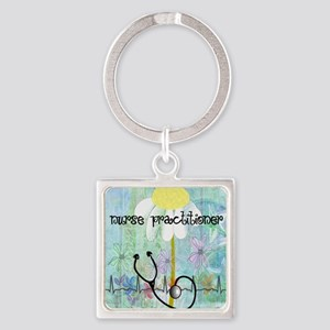 NP 1 Square Keychain