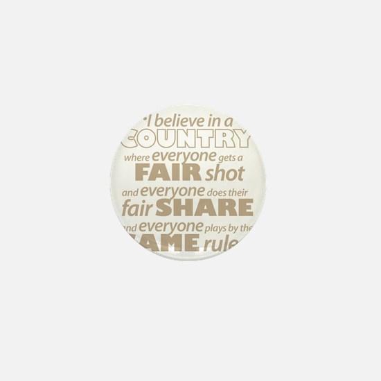 Fair Share Mini Button