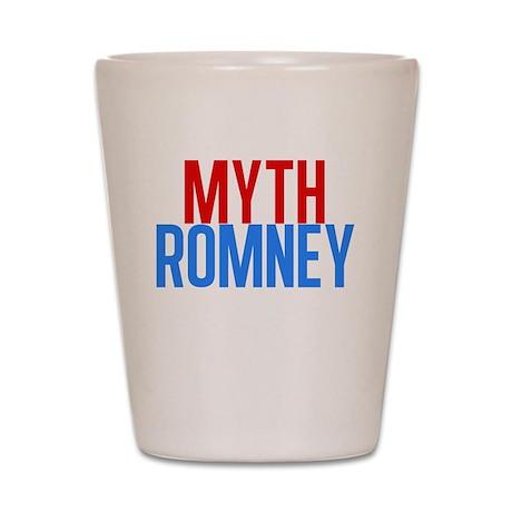 Myth Romney Shot Glass