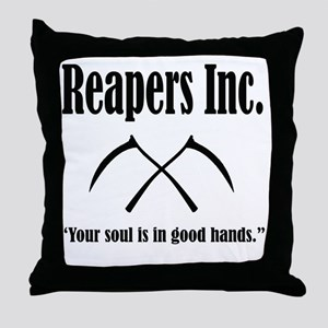 Best Reapers Logo Throw Pillow