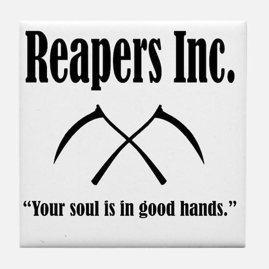 Best Reapers Logo Tile Coaster