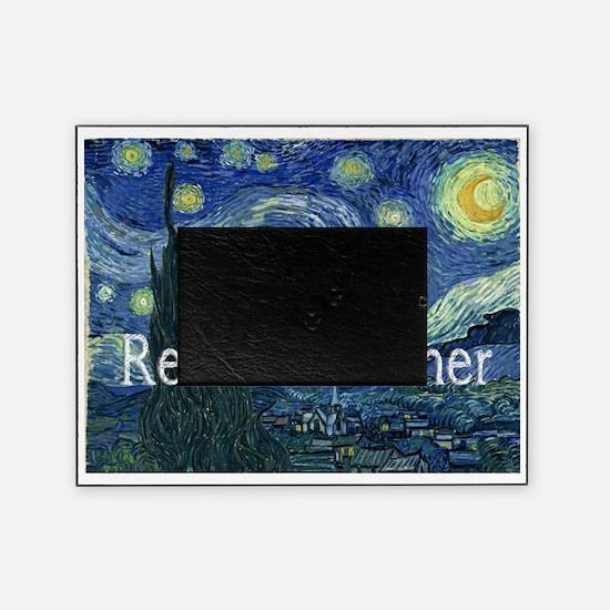 Retired TEacher Van Gogh Blanket Picture Frame