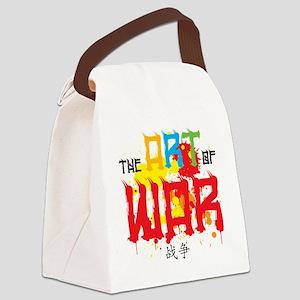 The Art of War Canvas Lunch Bag