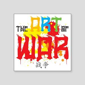"The Art of War Square Sticker 3"" x 3"""
