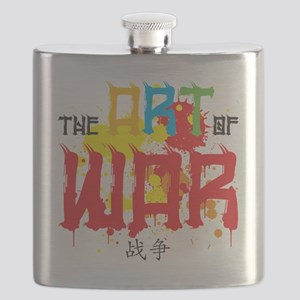 The Art of War Flask