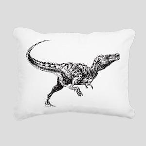 Dinosaur Rectangular Canvas Pillow