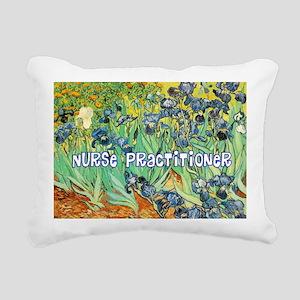 Nurse Practitioner blank Rectangular Canvas Pillow