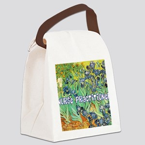 Nurse Practitioner blanket van go Canvas Lunch Bag