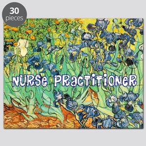 Nurse Practitioner blanket van gogh Puzzle