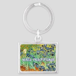 Nurse Practitioner blanket van  Landscape Keychain