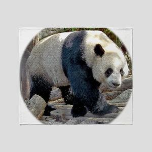 Puttin On The Panda Ritz Throw Blanket