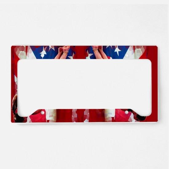Trampoline Gymnast License Plate Holder