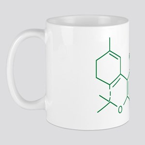 THC Molecule Mug