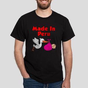 Made In Peru Girl Dark T-Shirt