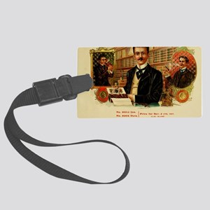 Our Leader Cigar Label Large Luggage Tag