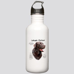 Chocolate Lab Stainless Water Bottle 1.0L