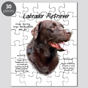 Chocolate Lab Puzzle
