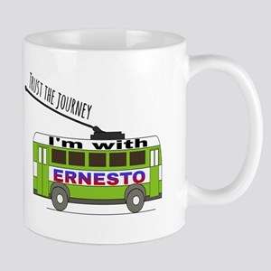 I'm with ERNESTO Mugs