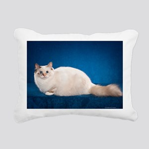 Birman Cat Calendar Rectangular Canvas Pillow