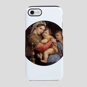 Madonna della seggiola - Raphael iPhone 7 Tough Ca