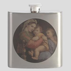 Madonna della seggiola - Raphael Flask