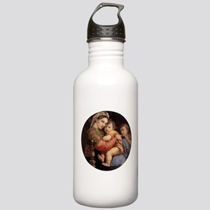 Madonna della seggiola - Raphael Water Bottle