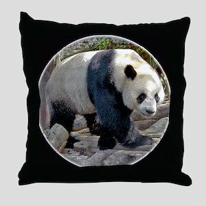 Puttin On The Panda Ritz Throw Pillow