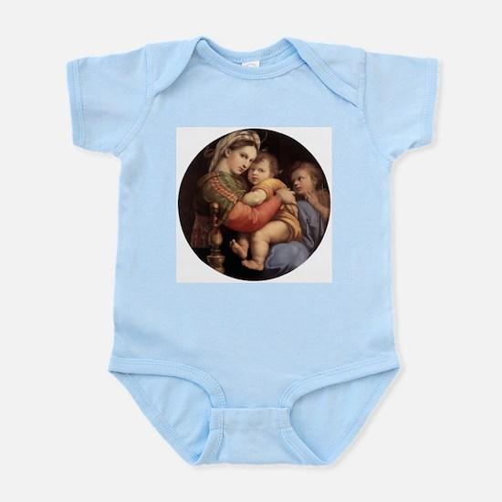 Madonna della seggiola - Raphael Body Suit