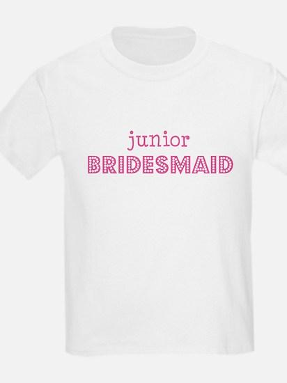 Junior Bridesmaid Kids T-Shirt