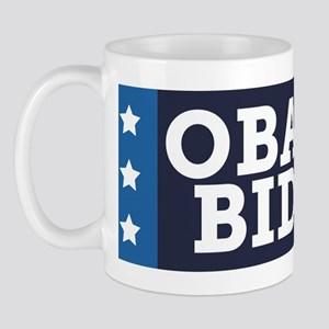 Obama Biden Stars (Blue) Mug
