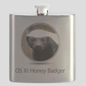 Operating System Honey Badger Flask