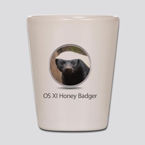 Operating System Honey Badger Shot Glass