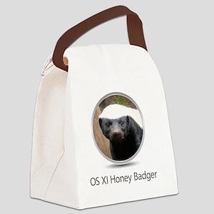 Operating System Honey Badger Canvas Lunch Bag