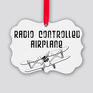 Radio Controlled Airplane Picture Ornament
