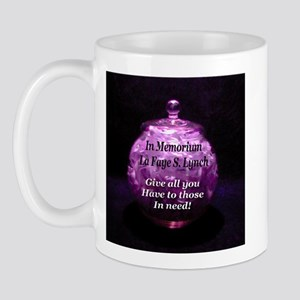 Give all you have to those in Mug