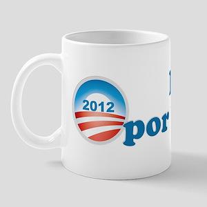 Latinos por Obama Mug