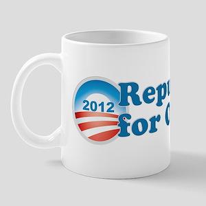 Republicans for Obama. Mug